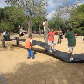 Sortida al Parc de l'Oreneta amb els alumnes de 1r d'ESO