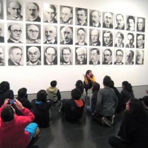 Visita al MACBA amb els alumnes de 1r d'ESO