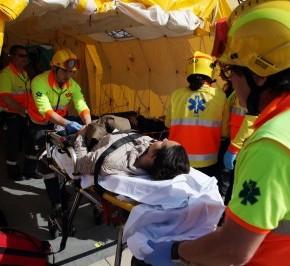 Simulacre d'emergències a l'aeroport de Barcelona