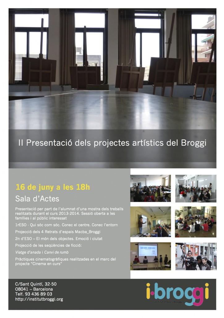16 de juny_ II projectes artístics_Broggi
