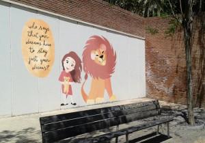 Taller de pintura mural i retoc digital