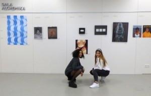 Exposició final d'Arts Visuals al Batxillerat Internacional (II)