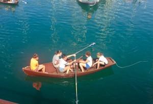 Bateig de mar dels alumnes de 1r d'ESO al Club Marítim