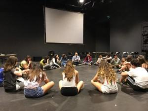 Estrena a la Sala Beckett del projecte de teatre d'aquest any