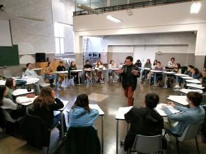 Poesia a les aules amb David Castillo i Josep Pedrals